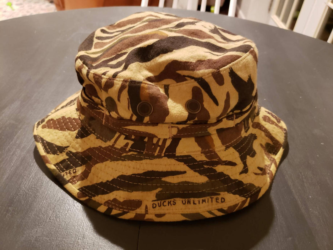 Vintage Ducks Unlimited Chamois Boonie Hat