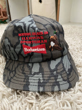 Load image into Gallery viewer, Budweiser trebark snapback
