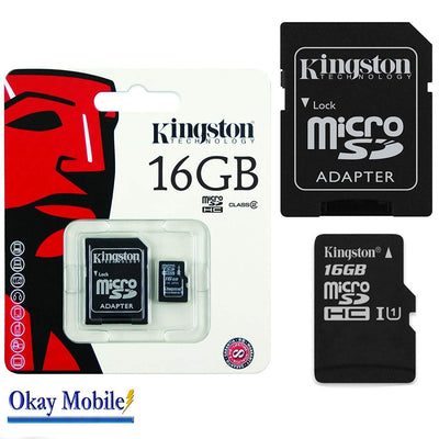 16GB Micro SD memory cards available from time2talk swansea the mobile phone specialist