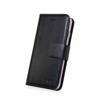 Black Evo iPhone 7 & 8 leather wallet case from time2talk Swansea