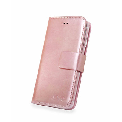 Rose Evo iPhone 7 & 8 leather wallet case from time2talk Swansea