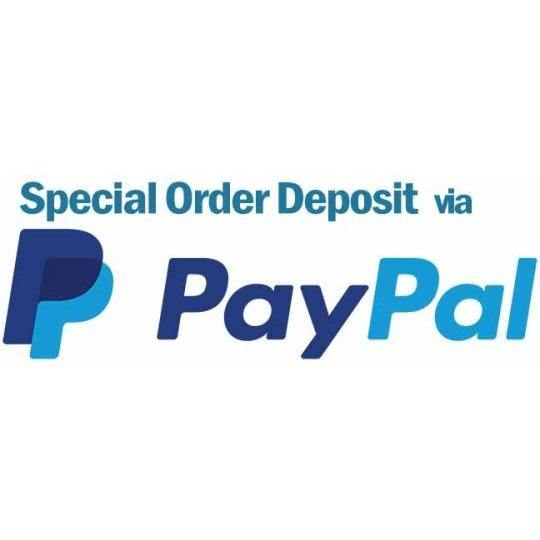 Deposit for special order products