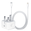 Genuine Apple Lightning to USB C Cable (1m) Fast Charger Lead - Time 2 Talk Swansea