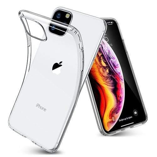 Apple iPhone Clear GEL Silicone Case - Time 2 Talk Swansea