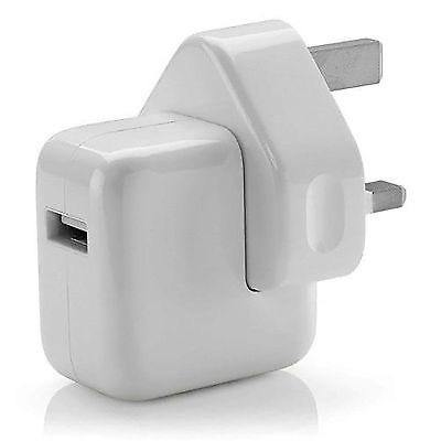 Genuine apple iPad 12 watt mains charger - Time 2 Talk Swansea