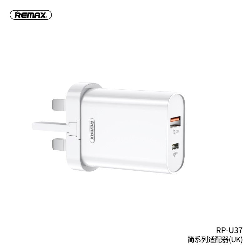 Rapid Mains Charger Twin USB & USB-C