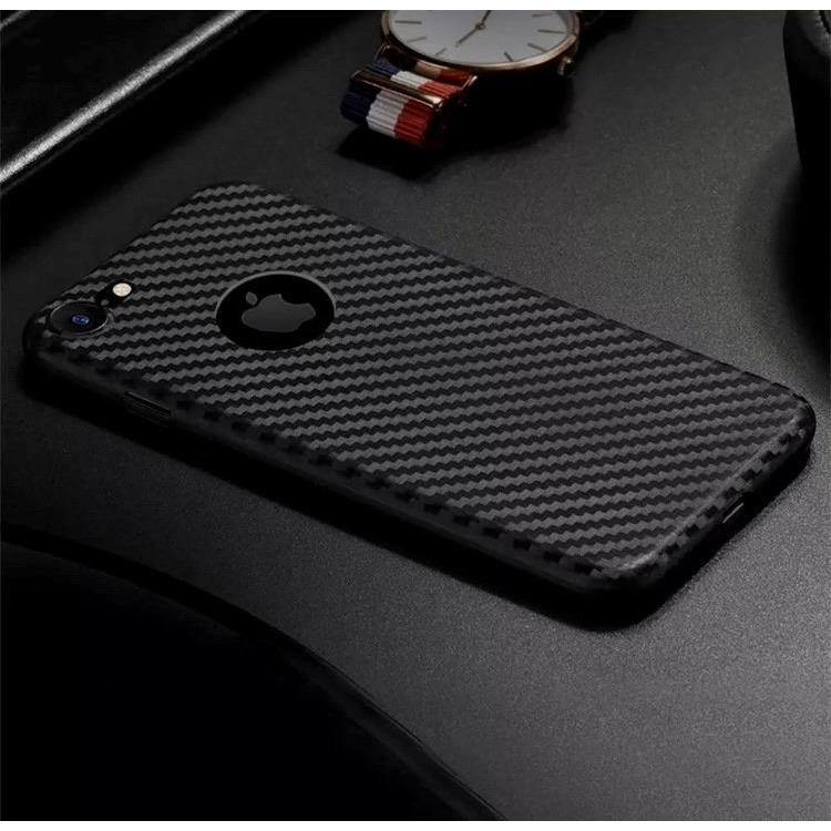 iPhone Carbon Fibre Silicon Case - Time 2 Talk Swansea