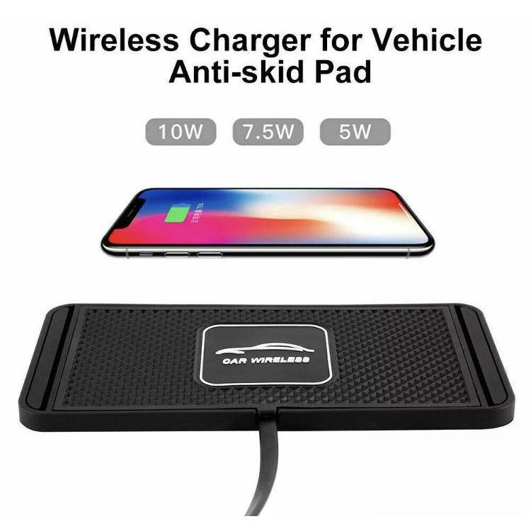 Car/Desk Fast Wireless Charger Pad - Time 2 Talk Swansea