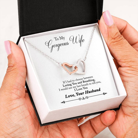 Heart Locked Necklace in Gift Box!