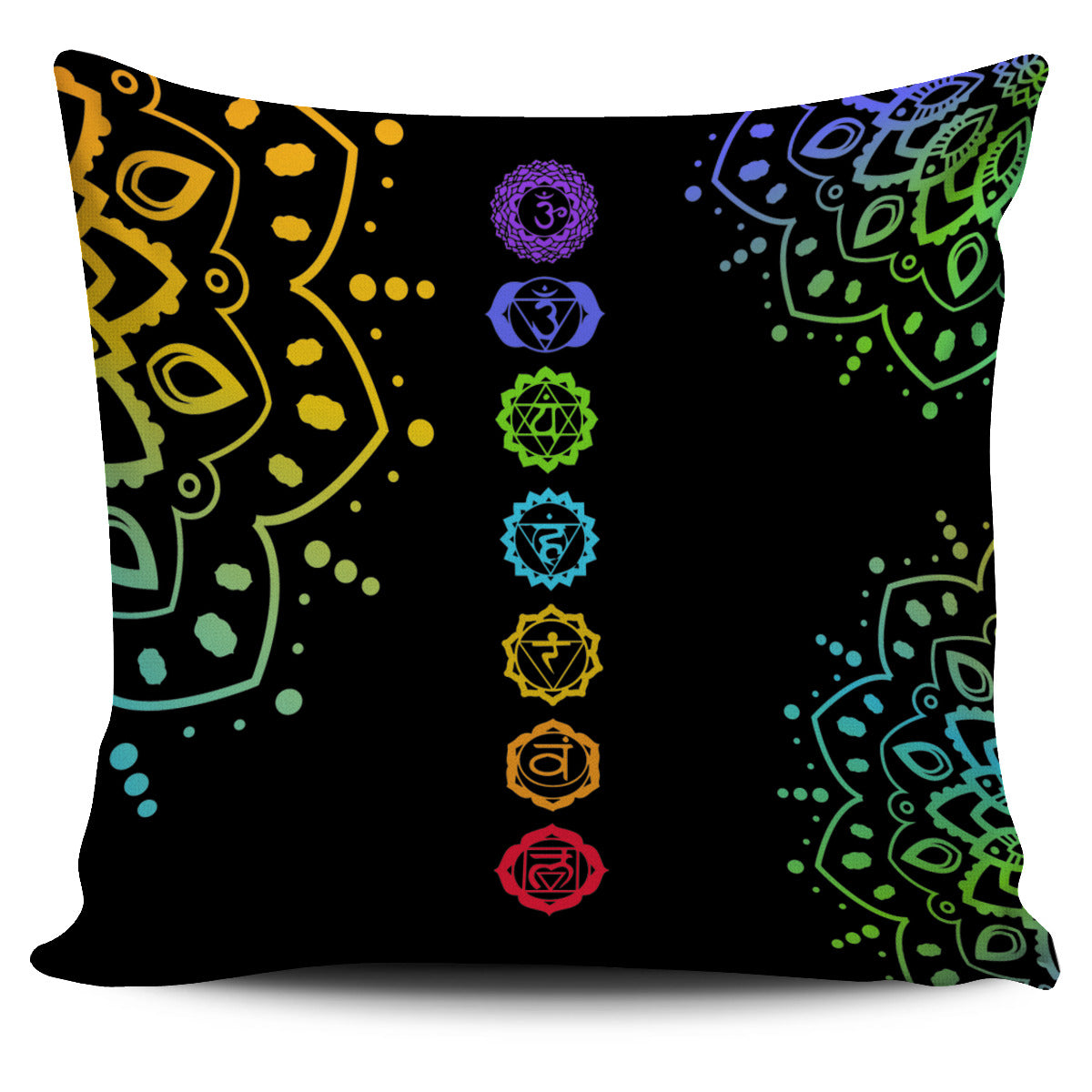 """Enchanting 7-Chakra Pillowcase"" FREE+SHIPPING SPECIAL!"
