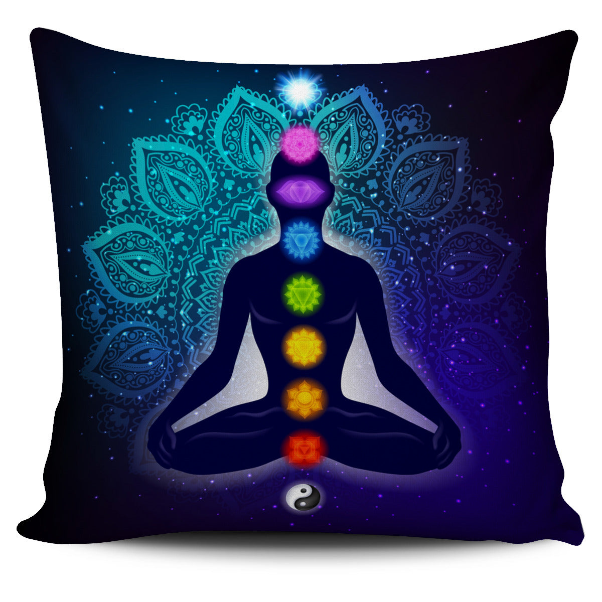 7-Chakra Harmony Pillow Cover 64% Off!