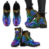 Leather Boots - Chakra Balancing Women's Leather Boots