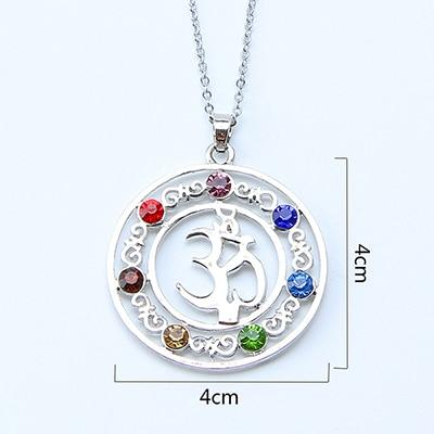 Necklace - 7 Chakra Jewelry Necklace!