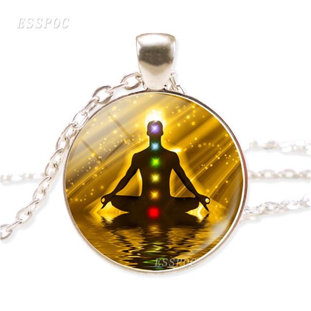 Necklace - Reiki Spiritual Medallion Necklace!