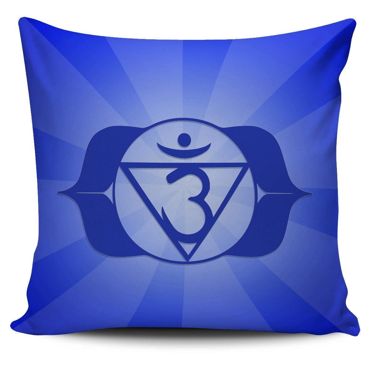 "Pillow - Deep Blue ""3rd Eye"" Chakra Pillowcase Set(7 Of 7)!"