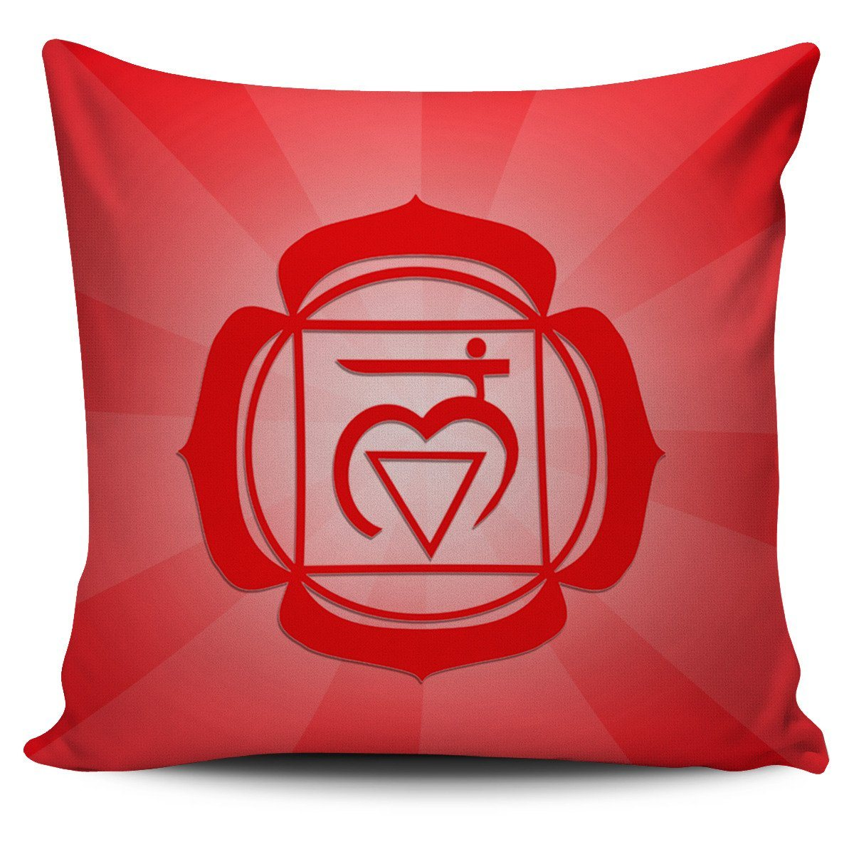 "Pillow - Red ""Root"" Chakra Pillowcase Set(3 Of 7)!"