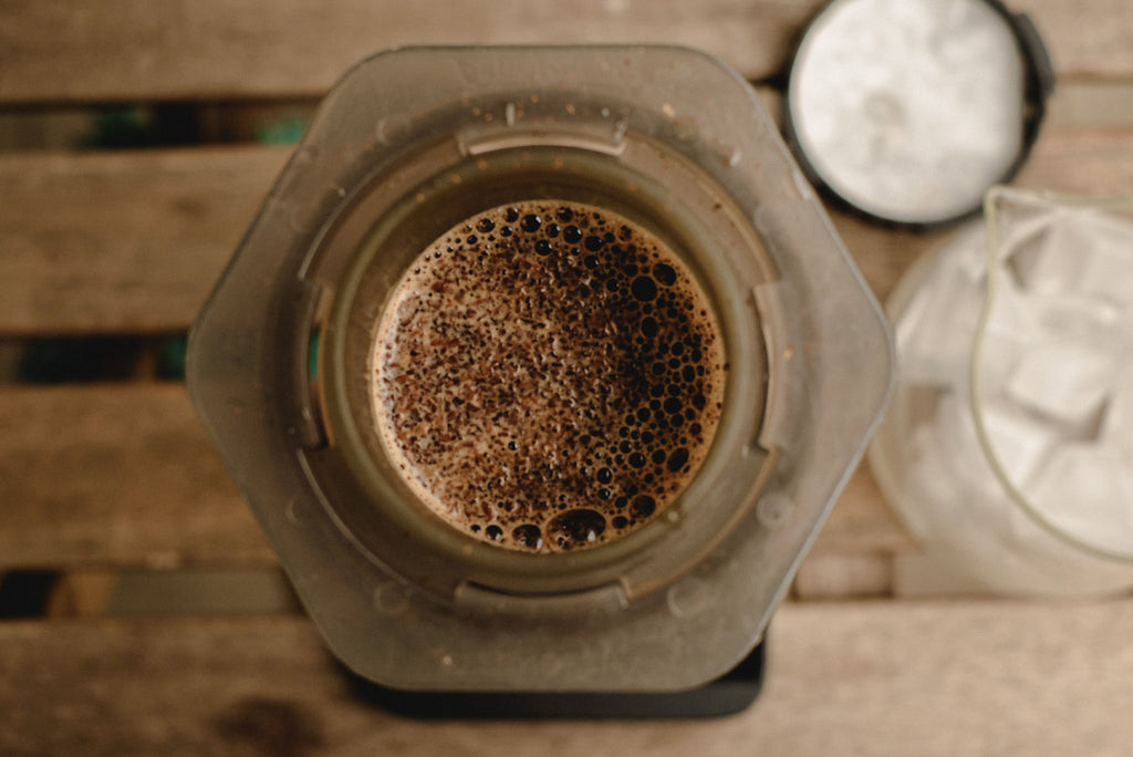 How to make the best ice filter coffee with Aeropress