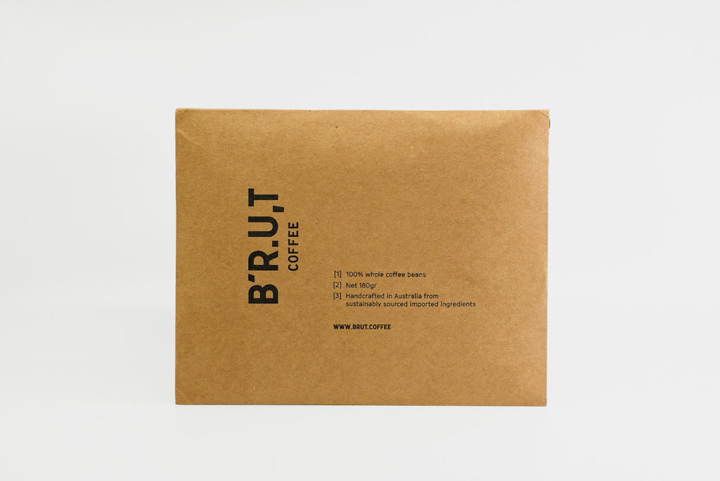 BRUT Coffee mailer