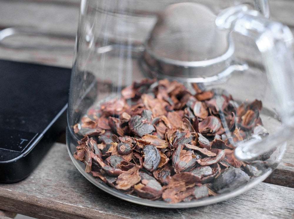 Brewing Cascara Tea
