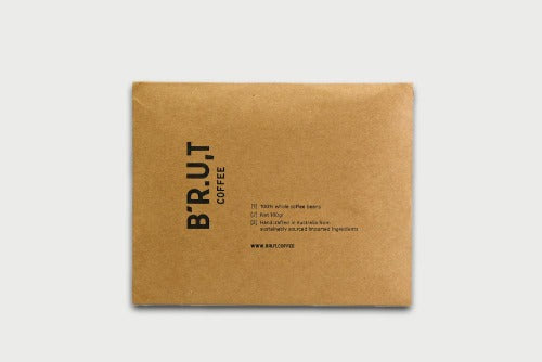 BRUT Coffee Packaging