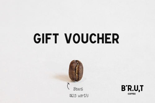 BRUT Coffee Online Gift Voucher
