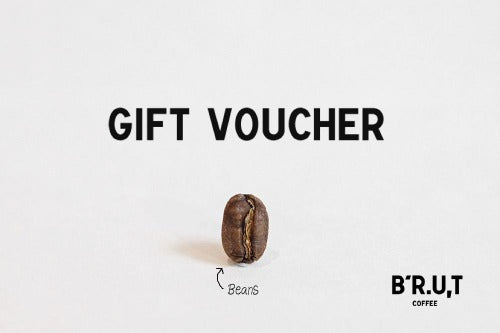 BRUT Coffee Gift Voucher