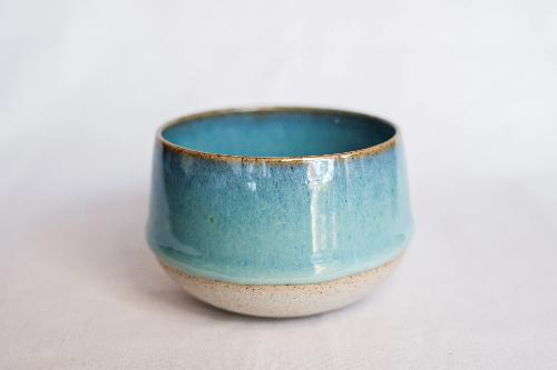 Speckle Seafoam Green Filter Cup by Clayboy Stoneware
