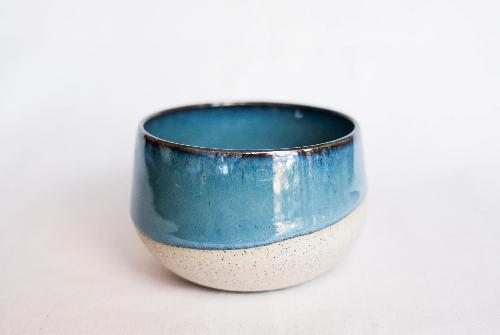 Speckle Blue Lagoon Filter Cup by Clayboy Stoneware
