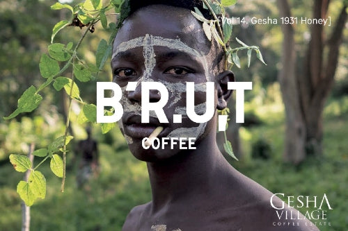 BRUT Coffee vol.14 Ethiopia Gesha Village Surma #84 Honey
