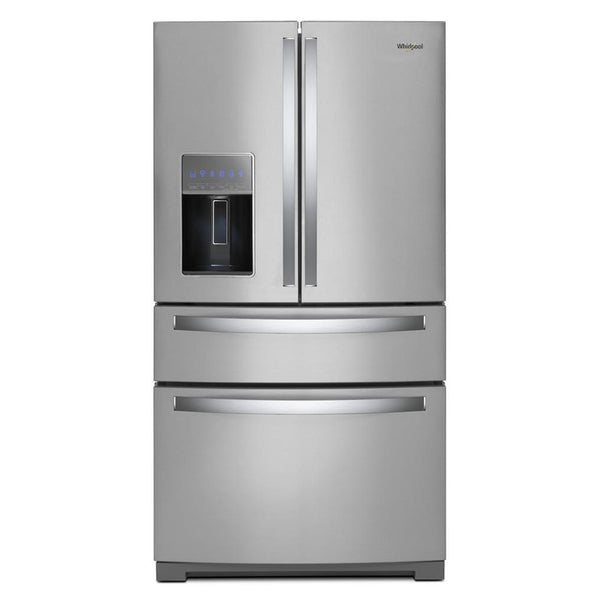 Whirlpool - 26 cu. ft. French Door Refrigerator - Fingerprint Resistant Stainless Steel - Appliances Club