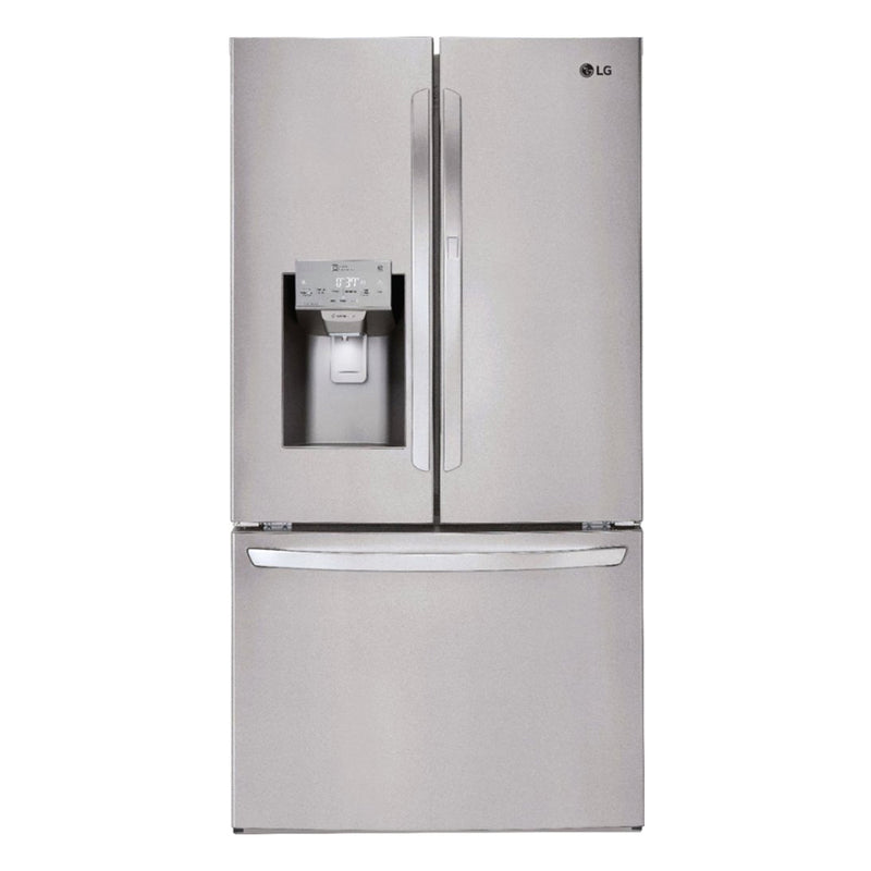 LG - 27.7 Cu. Ft. French Door in Door Smart Wi-Fi Enabled Refrigerator - Appliances Club