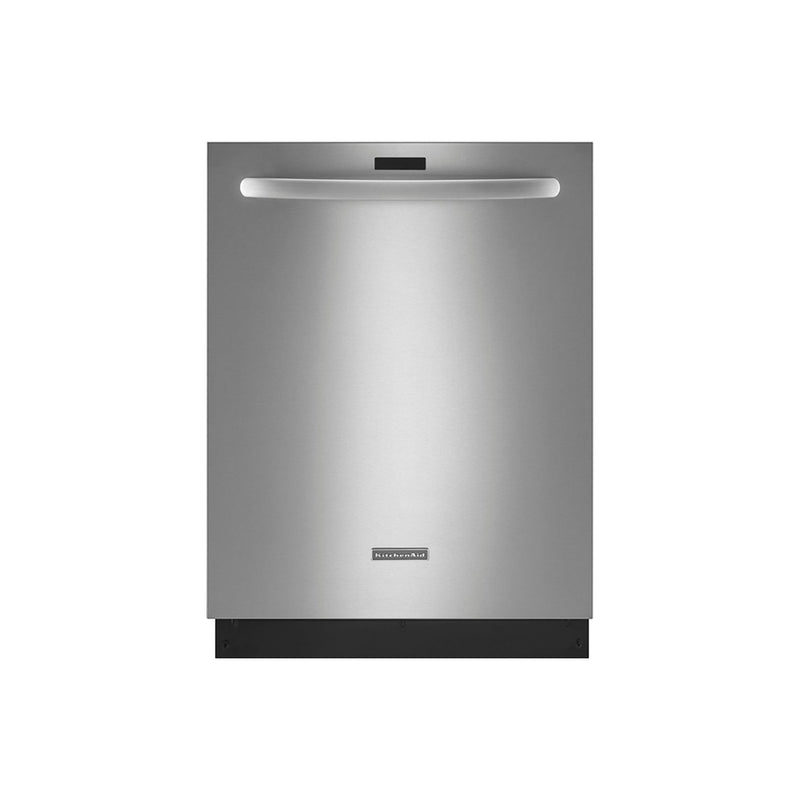 KitchenAid - Top Control Built-In Dishwasher with Stainless Steel Tub, Clean Water Wash System, 43dBA - Stainless steel - Appliances Club