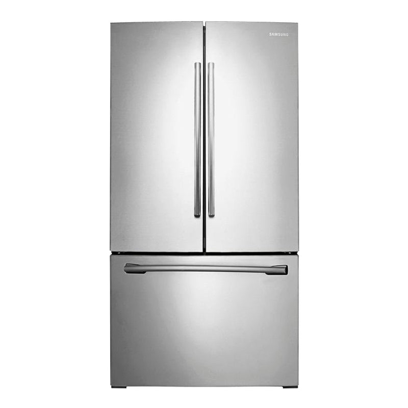 Samsung - 25.5 Cu. Ft. French Door Refrigerator with Internal Water Dispenser - Stainless steel