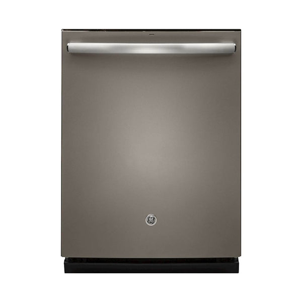 "GE - 24"" Tall Tub Built In Dishwasher - Slate - Appliances Club"
