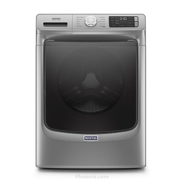 Maytag - 4.5 cu ft High Efficiency Stackable Front Load Washer - Metallic Slate