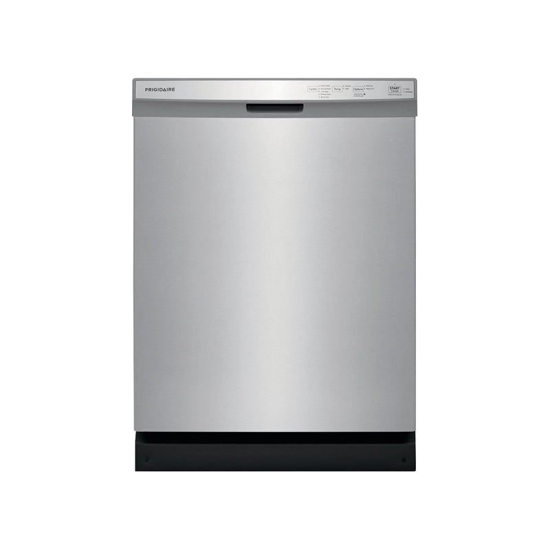 "Frigidaire - 24"" Front Control Tall Tub Built-In Dishwasher - Stainless steel - Appliances Club"