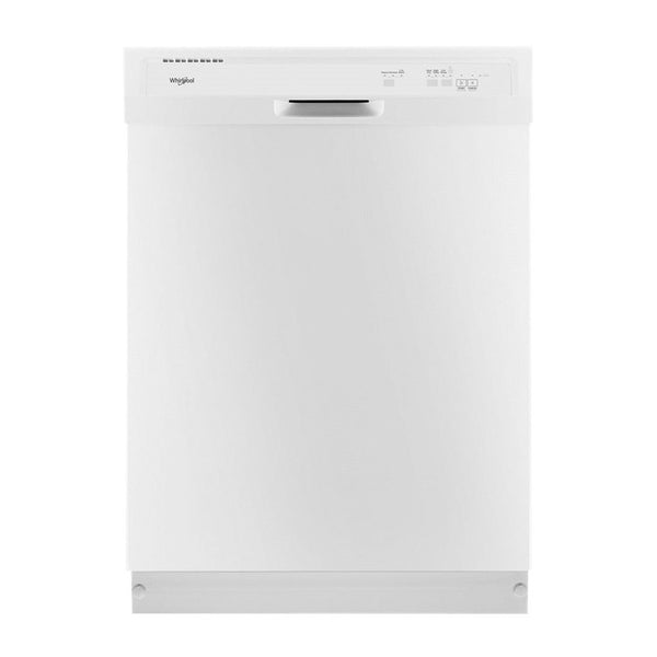 "Whirlpool - 24"" Built In Dishwasher - White"
