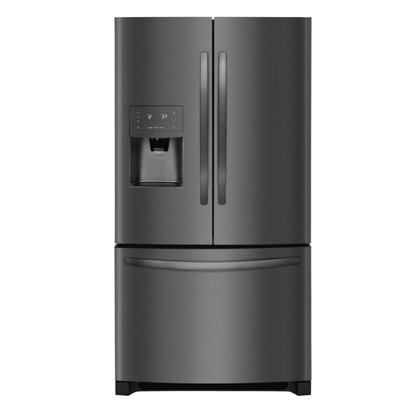 Frigidaire - 26.8 Cu. Ft. French Door Refrigerator - Black Stainless Steel