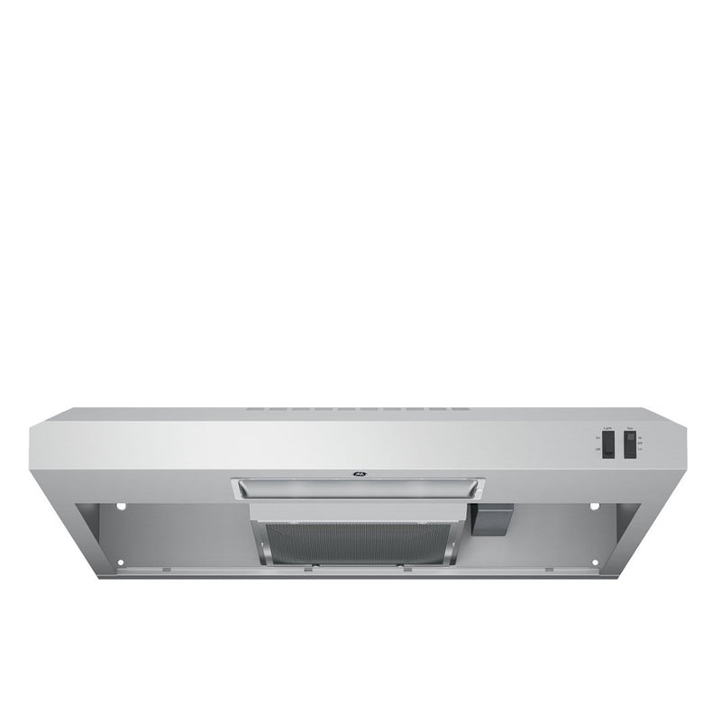 "GE - 30"" Convertible Range Hood - Stainless steel - Appliances Club"