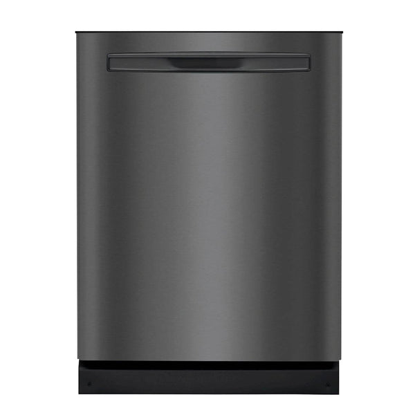 "Frigidaire - Gallery 24"" Top Control Tall Tub Built In Dishwasher - Black stainless steel"