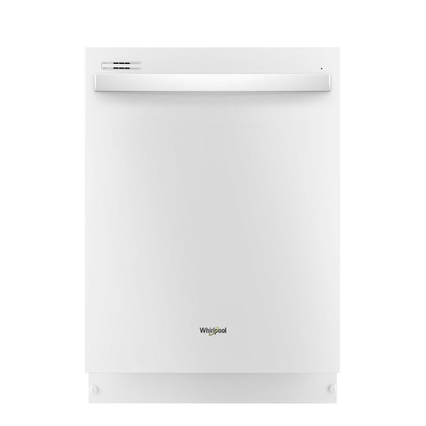 "Whirlpool - 24"" Tall Tub Built In Dishwasher - White"