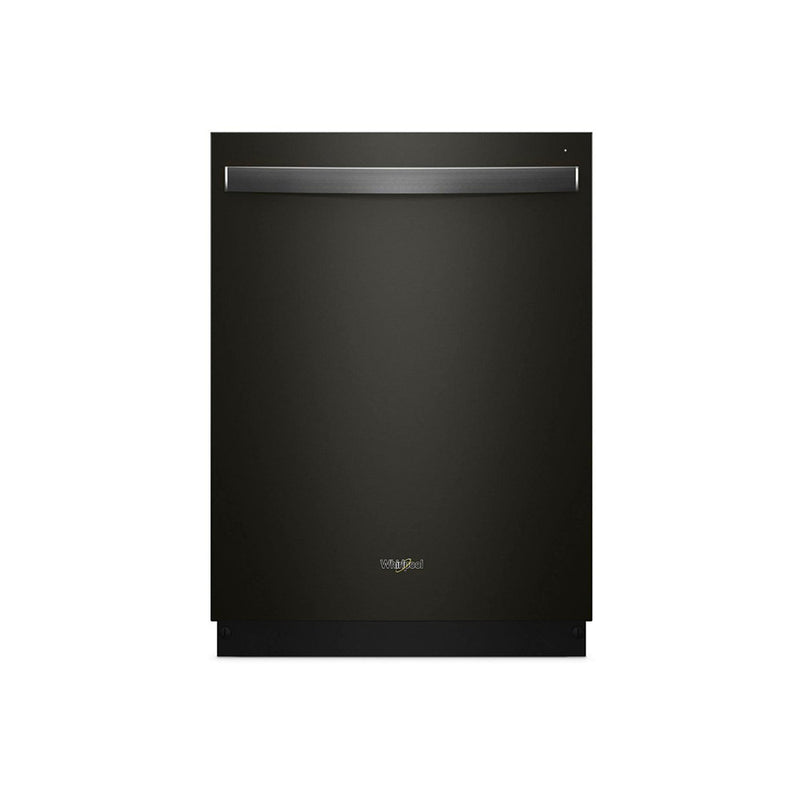 "Whirlpool - 24"" Built-In Dishwasher - Black stainless steel - Appliances Club"