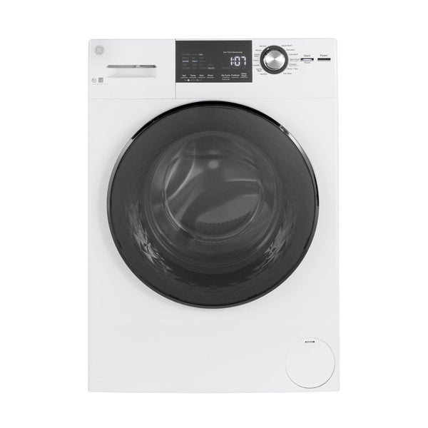 GE - 2.4 Cu. Ft. 14 Cycle Front Loading Washer - White - Appliances Club