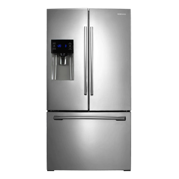 Samsung-25 cu. ft. French Door with External Water & Ice Dispenser, Dual Ice Maker - Stainless steel