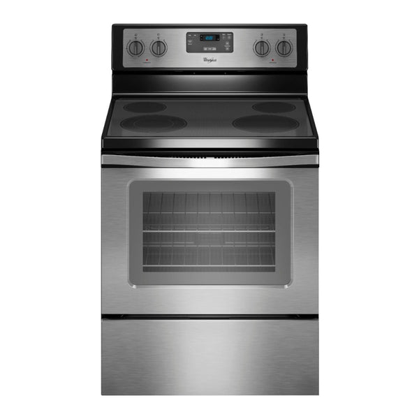 Whirlpool - 4.8 Cu. Ft. Freestanding Electric Range - Appliances Club