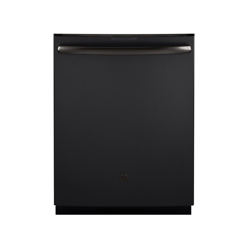 "GE - Profile Series 24"" Built In Dishwasher - Black Slate - Appliances Club"