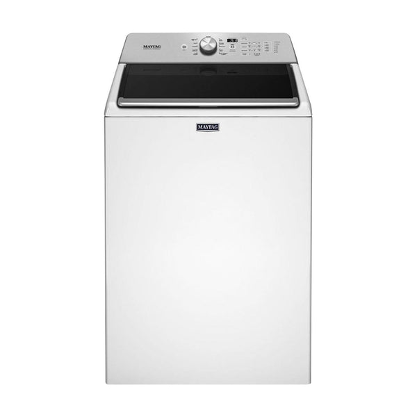 Maytag - 4.7 Cu. Ft. 11 Cycle Top Loading Washer - White - Appliances Club