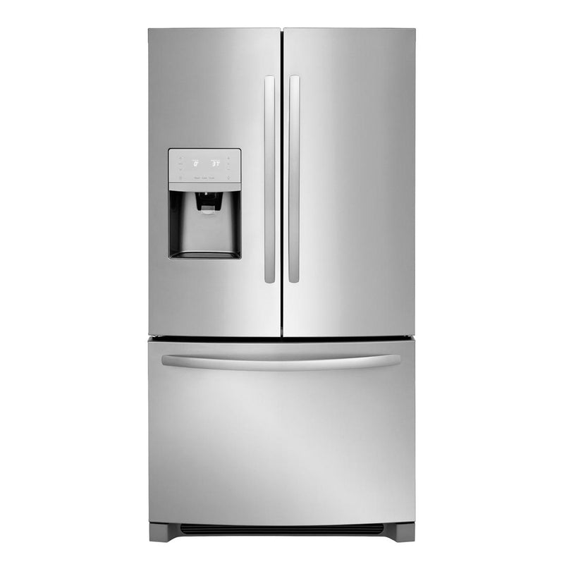 Frigidaire - 21.7 Cu. Ft. French Door Counter Depth Refrigerator - Stainless Steel