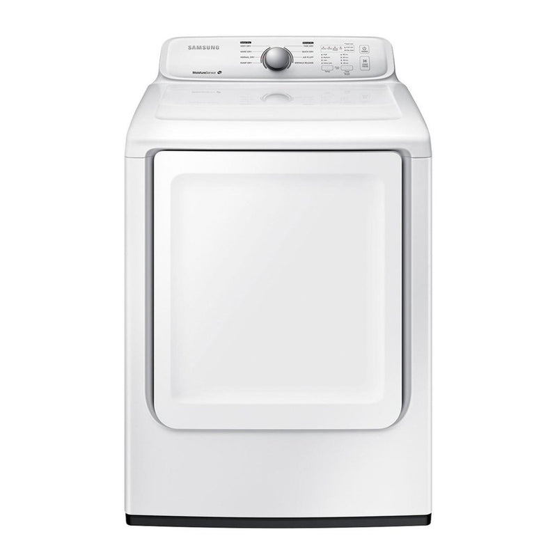 Samsung - 7.2 Cu. Ft. 8 Cycle Electric Dryer - White