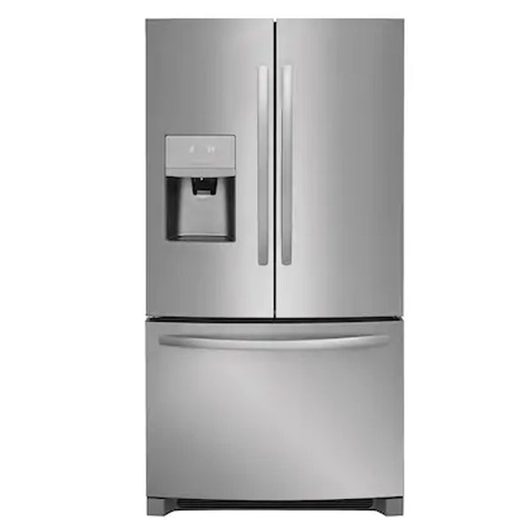 Frigidaire - 26.8 cu ft French Door Refrigerator with Ice Maker - EasyCare Stainless Steel - Appliances Club